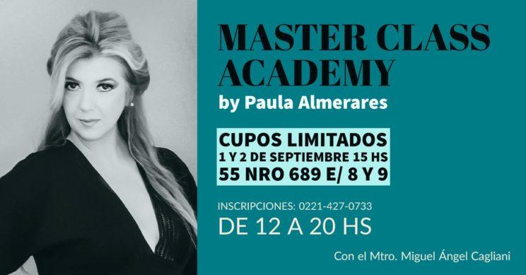 Master Class Academy vuelve en SEPTIEMBRE