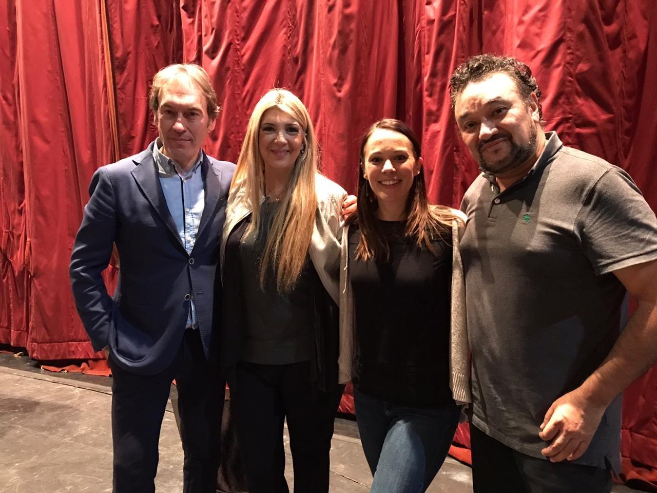 Rubén Amoretti, Paula Almerares, Rachele Gilmore, Ramón Vargas
